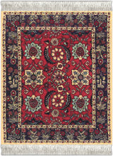 Load image into Gallery viewer, Pashmina Flowers Coaster Rug