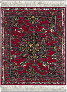 Star Ushak Coaster Rug