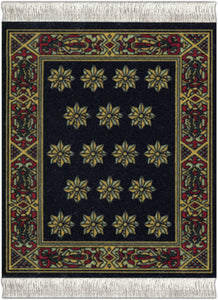 Country Heritage Stars Coaster Rug