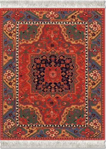 Northwest Persian Mouse Rug