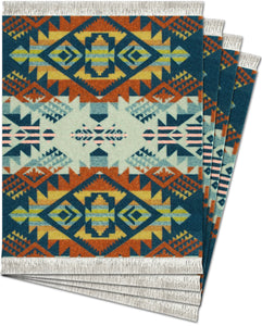 Journey West Coaster Rug Set