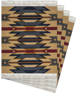Wyeth Trail Coaster Rug Set