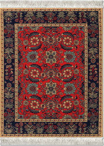 Pashmina Flower Mouse Rug