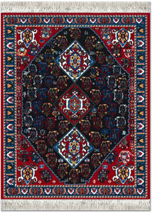 Persian Qashqai Carpet Mouse Rug