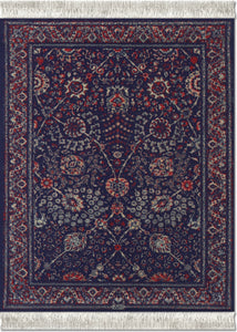 Qum Flower Mouse Rug