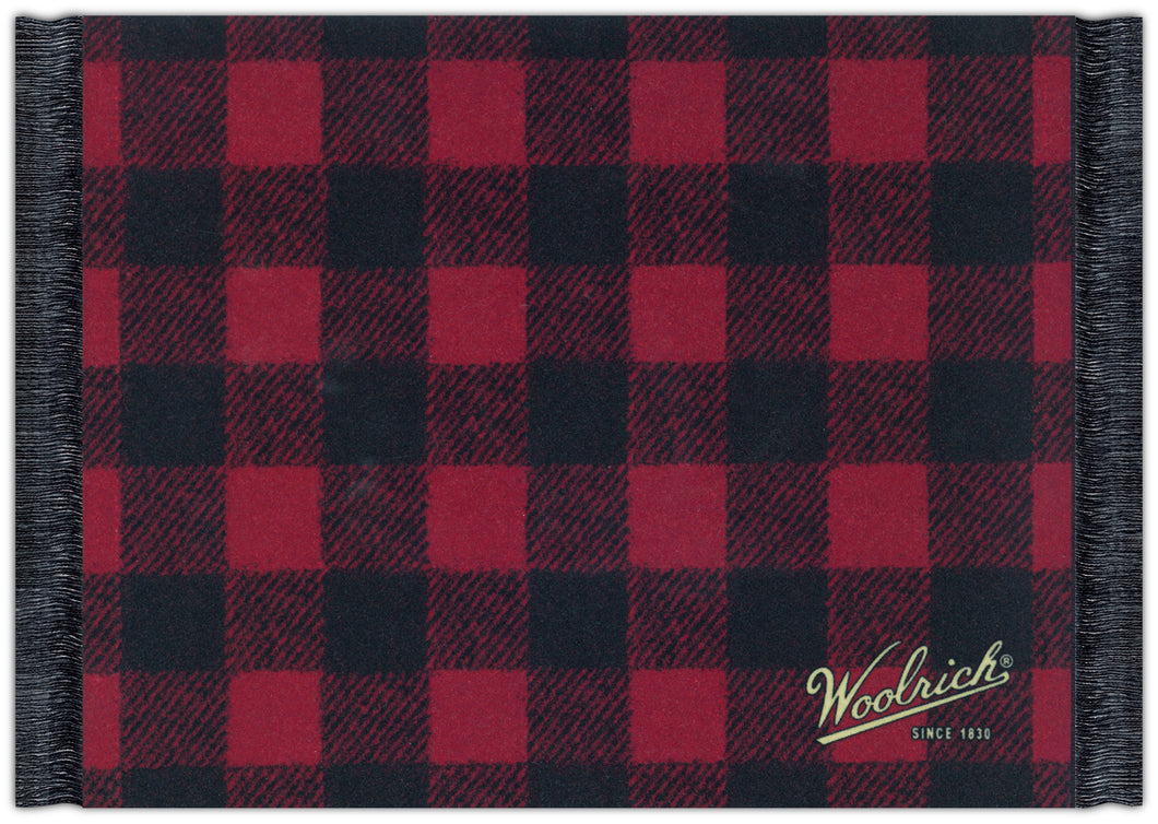 Buffalo Plaid Mouse Rug