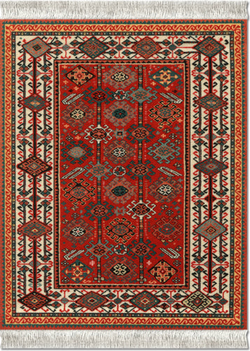 Tribal Shekarlu Mouse Rug