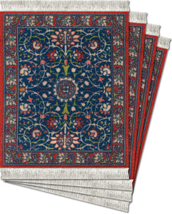 William Morris Coaster Rug Set