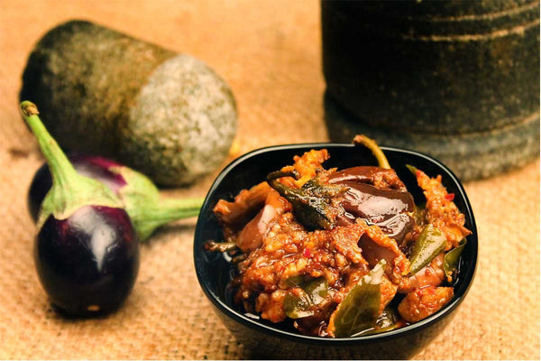 Home Made Brinjal Chatpata Pickle