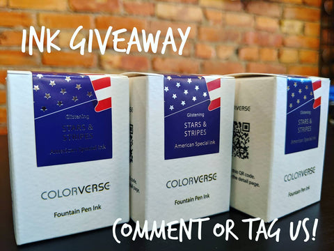 4th of July hours and Ink Giveaway