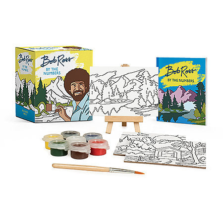 Bob Ross by Numbers Kit Mini Edition