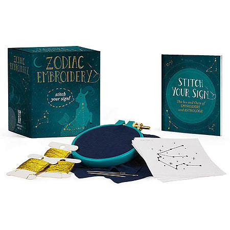 Zodiac Embroidery Kit Mini Edition