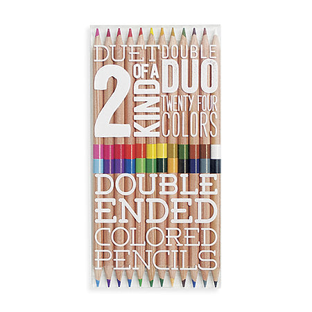 Double Ended Colored Pencils - Odd Nodd Art Supply