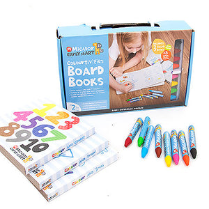 Colourtivities Board Books Children's Art Set