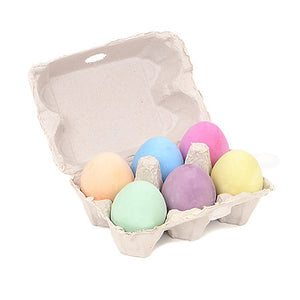 Egg Chalk 6 Color Set - Odd Nodd Art Supply