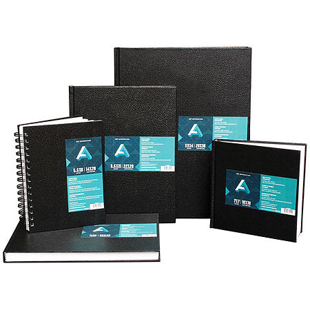 Black Hard Bound Sketch Books