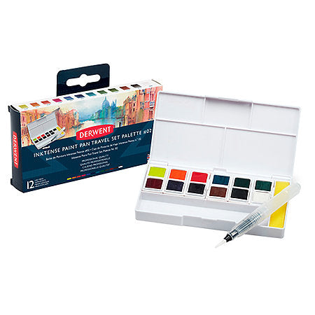 Inktense Paint Pan Travel Sets