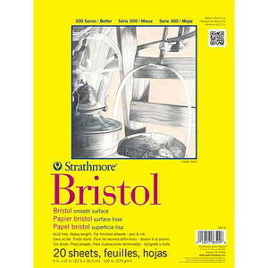 Strathmore Bristol Paper Pads Series 300