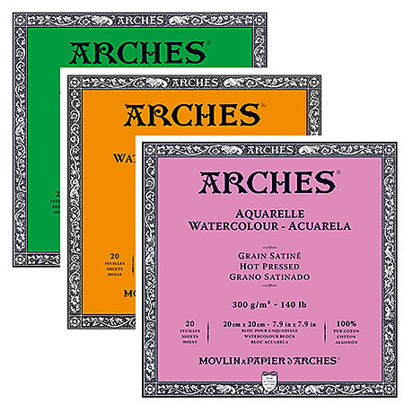 Arches Watercolor Blocks - Odd Nodd Art Supply