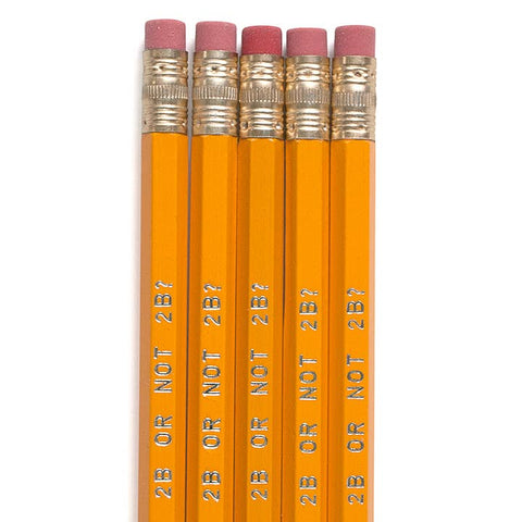 2B or Not 2B Pencil - Odd Nodd Art Supply