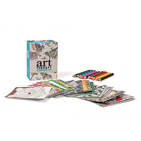 Art Therapy Coloring Mini Kit - Odd Nodd Art Supply
