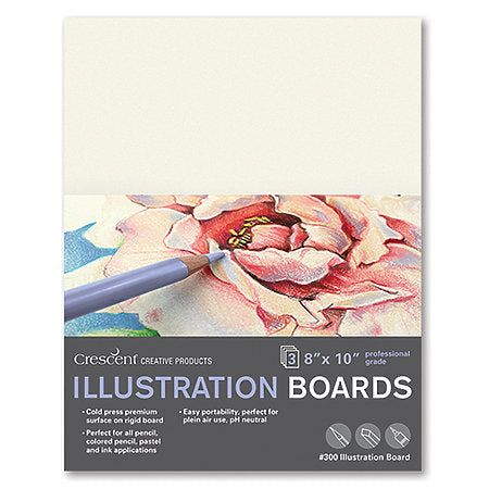 Cold-Press Illustration Board 3-Packs
