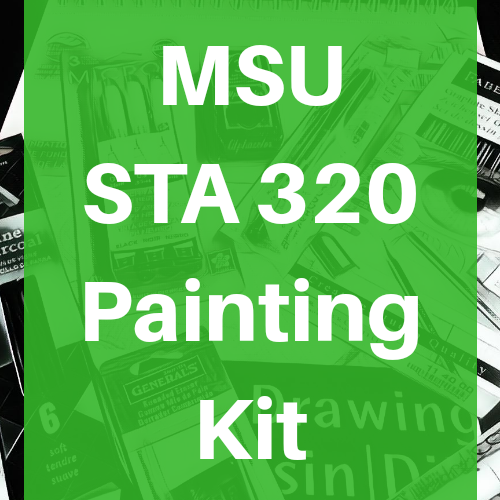 MSU STA 320 Painting Pack Course Kit - Odd Nodd Art Supply