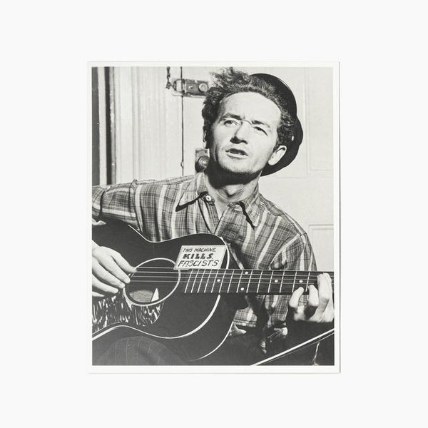 Blackwing Volume 223 - Woody Guthrie Limited Release Pencil Postcard Photograph - Odd Nodd Art Supply