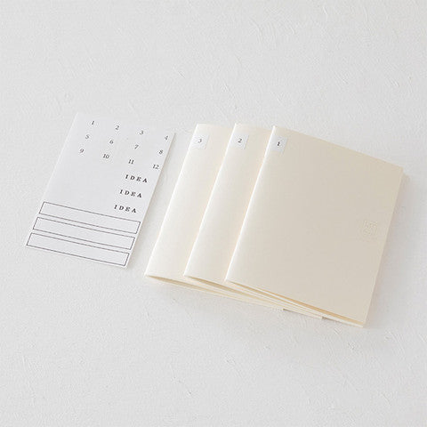 Midori MD Notebook Light 3 pack - Odd Nodd Art Supply