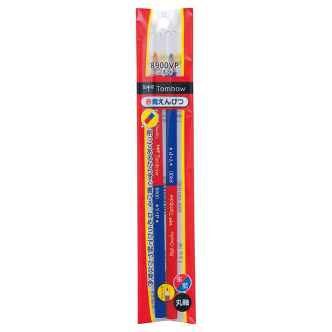 Red and Blue Double Ended Pencil by Tombow - Odd Nodd Art Supply