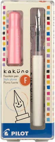 Pilot Kakuno fountain pen pink - Odd Nodd Art Supply
