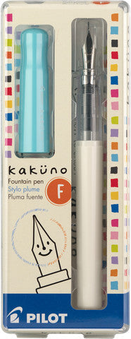 Pilot Kakuno fountain pen fine turquoise - Odd Nodd Art Supply