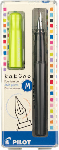 Pilot Kakuno fountain pen lime medium - Odd Nodd Art Supply