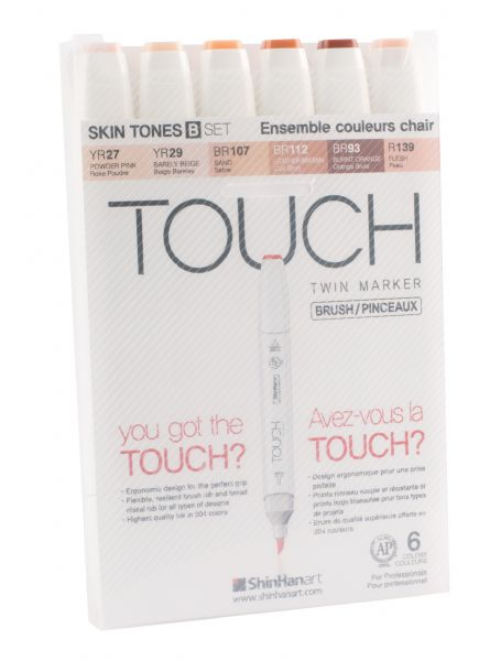 Touch Twin Brush Marker Sets