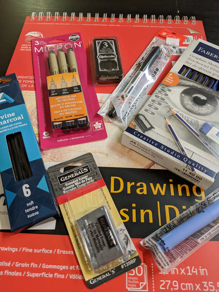 Drawing Kit for Covid19 Coronavirus Creative Odd Nodd Art Supply