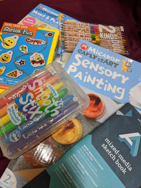 Kid's Quarantine Creative Activity Kit Odd Nodd Art Supply