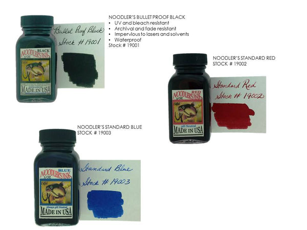 Noodler's Fountain Pen Inks