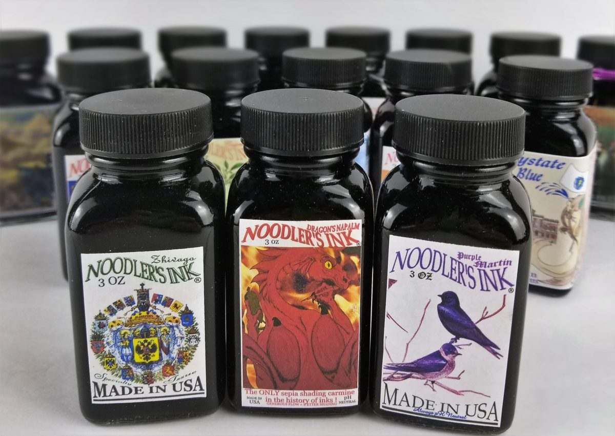 Noodler's Fountain Pen Inks - Odd Nodd Art Supply