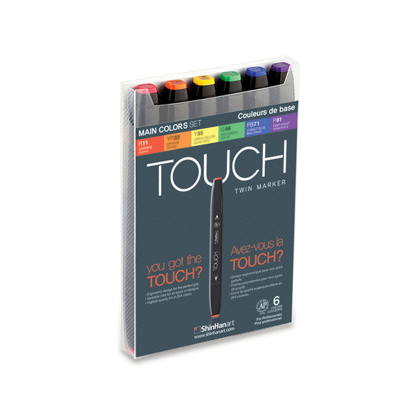 Touch Twin Marker Sets
