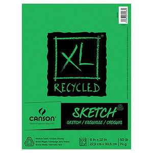XL Recycled Sketch Pad - Odd Nodd Art Supply