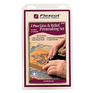 Linoleum & Relief Printmaking Set