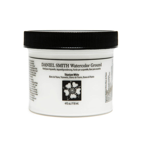 Watercolor Ground White 4oz - Odd Nodd Art Supply