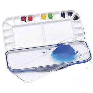Mijello Fusion Airtight 18-Well Watercolor Palette