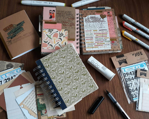 Journaling Kit featuring Corey Marie of Papercuts Handmade Odd Nodd Art Supply