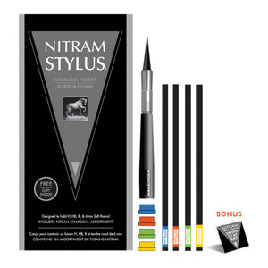 Nitram Charcoal Stylus Set Holder - Odd Nodd Art Supply