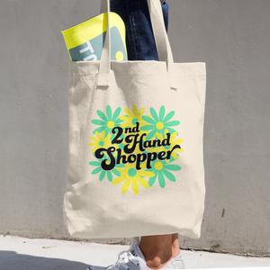 2nd Hand Shopper Tote Bag
