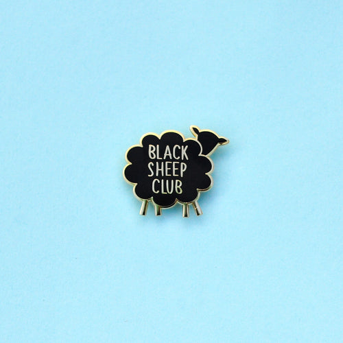 Black Sheep Club Enamel Pin