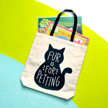 Fur is For Petting Tote Bag