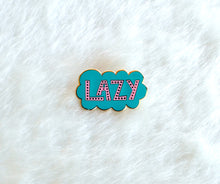 Lazy Cloud Enamel Pin