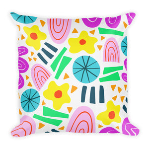 Abstract Geometric Throw Pillow (2 sizes available)